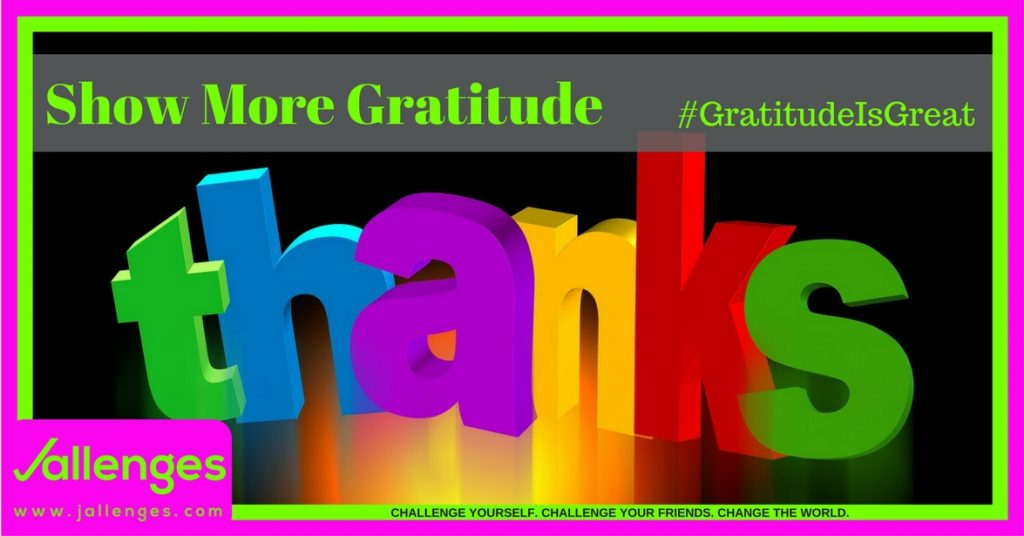 Gratitude Is Great Featured Jallenges Image