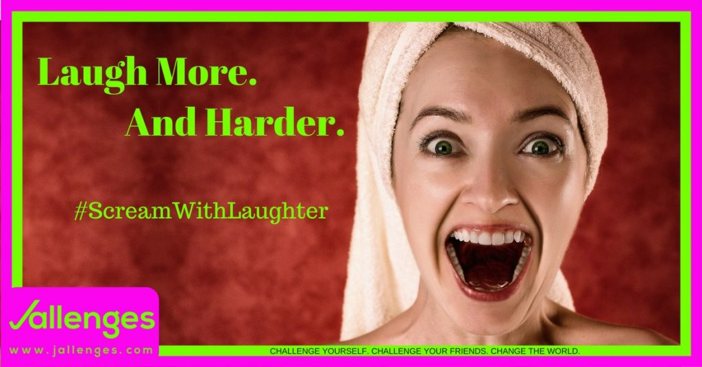 Scream With Laughter Featured Jallenges Image