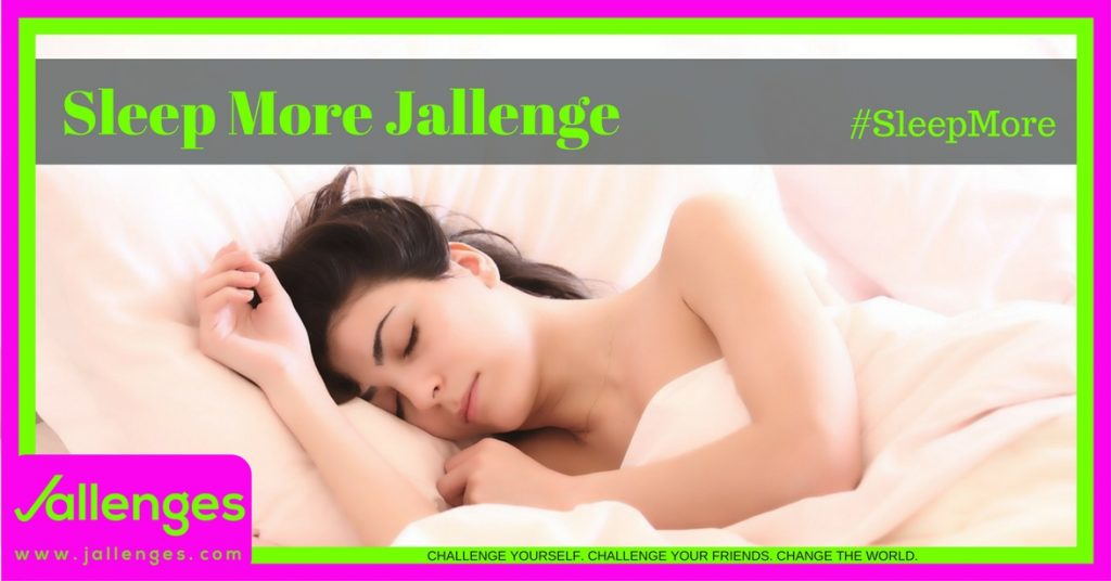 Sleep More Jallenge Featured Jallenges Image