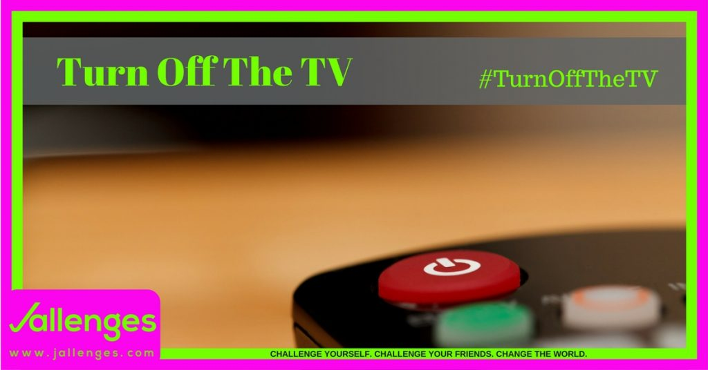 Turn Off The TV Featured Jallenges Image